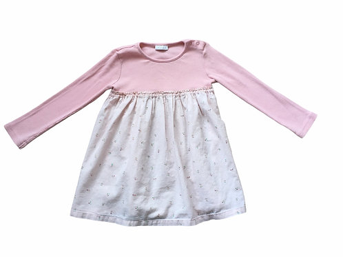 Next 1.5-2 years Pink Floral Long Sleeve Dress