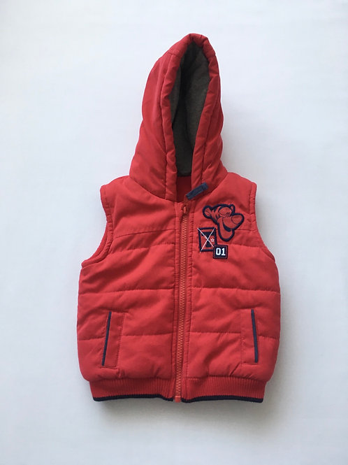 George 6-9 months red Tigger Bodywarmer