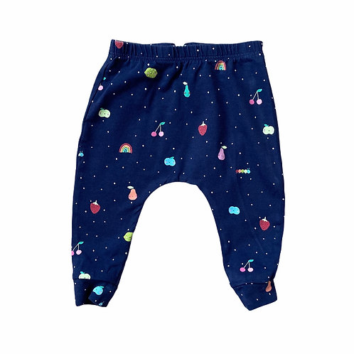Next 3-6 months Navy Fruit Leggings