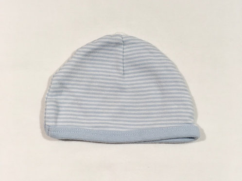 Mothercare Up to 1 month Blue and White Striped Hat