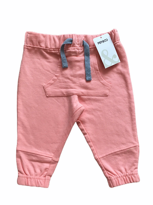 Pep & Co. 3-6 months Peach Joggers - BRAND NEW