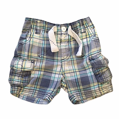 George 9-12 months Check Shorts