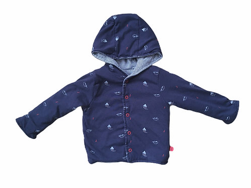 Jasper Conran 6-9 months Navy Nautical Coat