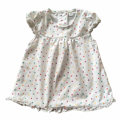 M&S 12-18 months Polka Dot Top