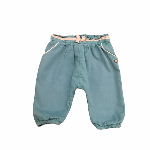M&S 3-6 months Turquoise Lightweight Trousers