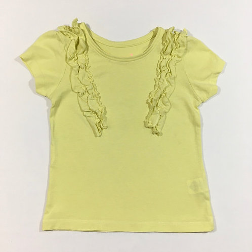 Primark 2-3 years Lemon Ruffle T-shirt