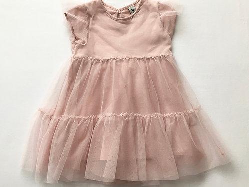 TU 18-24 months Blush Pink Glitter Dress