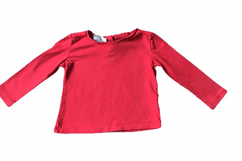Next 6-9 months Red Long Sleeve Top