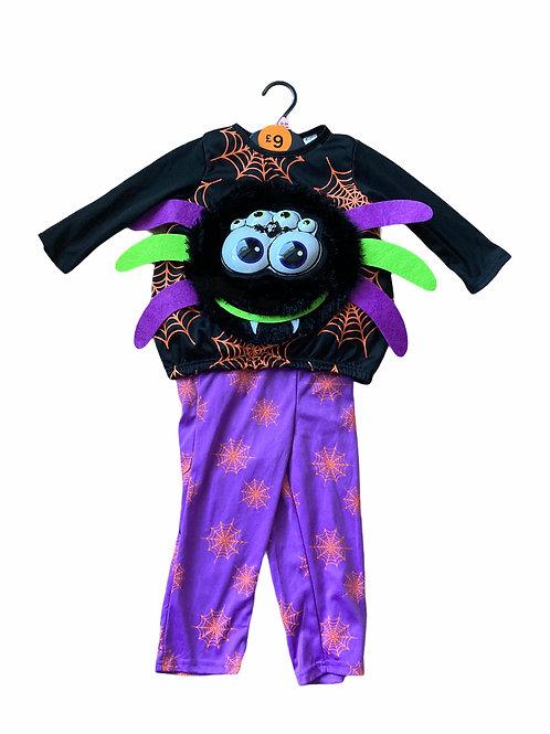 F&F 12-24 months Spider Halloween Costume