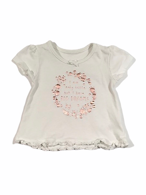 George First Size 'I Am Only Little But I Have Big Dreams' T-shirt