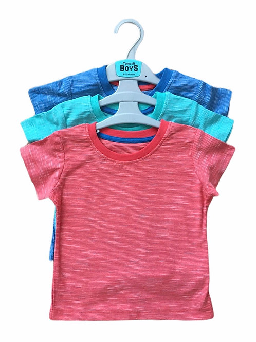 Ex Chain Store 12-18 months 3 Pack of T-shirts - BRAND NEW