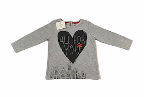 Next 6-9 months 'All For You' Long Sleeve Top – BRAND NEW