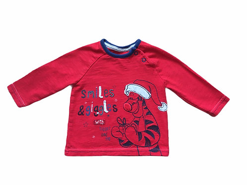 George 0-3 months Disney Tigger Long Sleeve Christmas Top