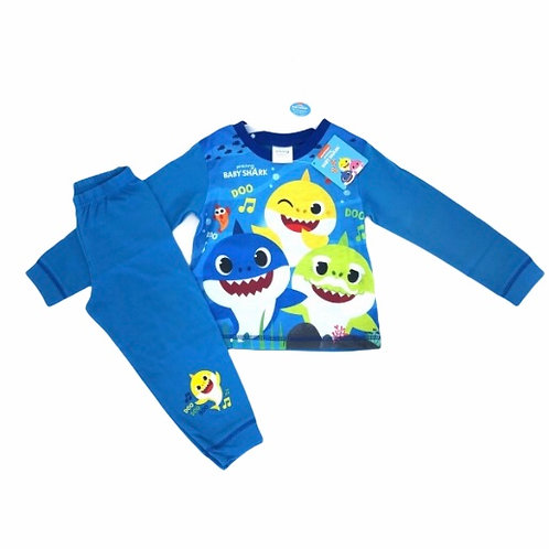 4-5 years Blue Baby Shark Pyjamas - BRAND NEW