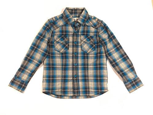 Rocha John Rocha 6 years Long Sleeve Check Shirt