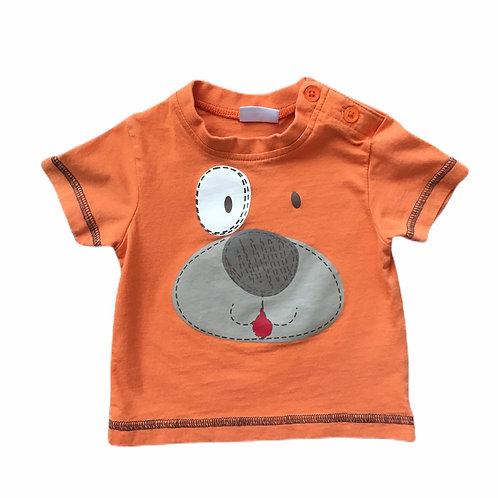 Cherokee Newborn Orange Puppy T-shirt