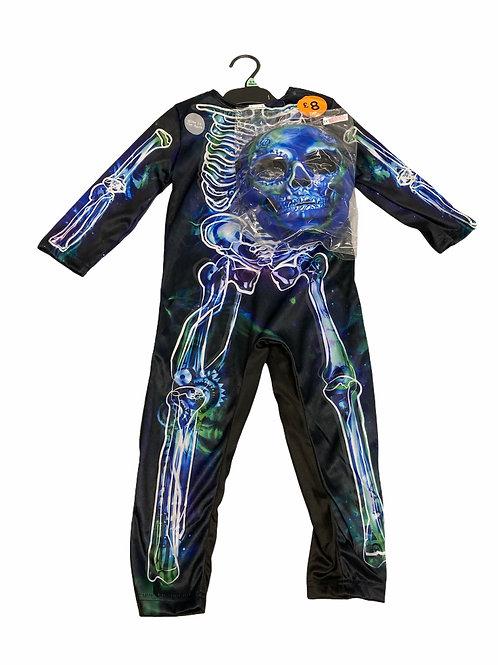 Ex Chain Store 3-4 years Glow in the dark Halloween Costume with Mask -BRAND NEW