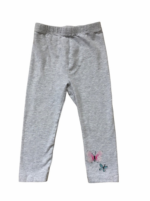 Mothercare 12-18 months Grey Butterfly Leggings