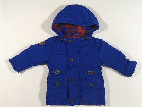 Next 9-12 months Blue Padded Coat