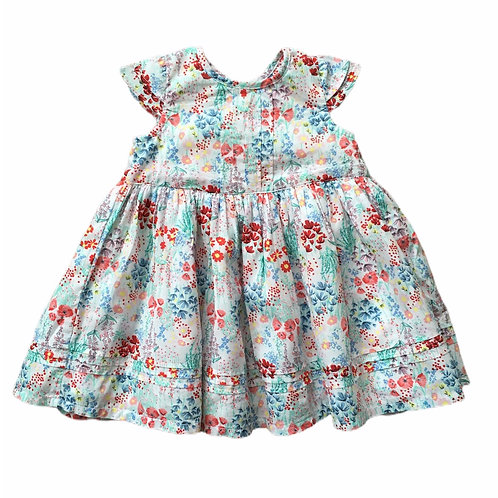George 6-9 months Floral Dress