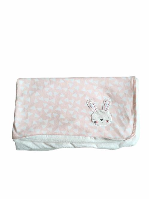 Primark Fleece Rabbit Blanket 94x82cm