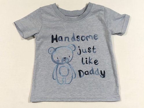 George 6-9 months 'Handsome Just Like Daddy' T-shirt