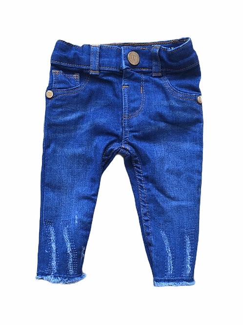 River Island 0-3 months Dark Denim Jeans