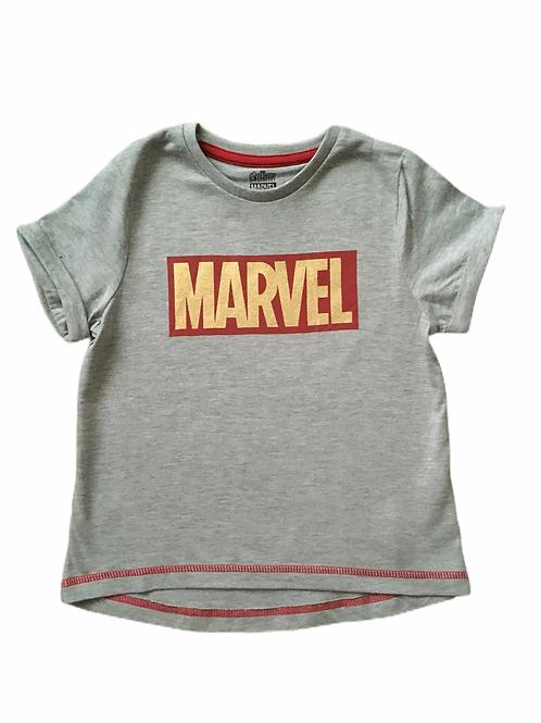 6-7 years Grey Marvel T-shirt - BRAND NEW