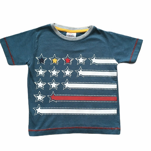 Urbran Rascals 9-12 months Star T-shirt (small fabric flaw - see photo)