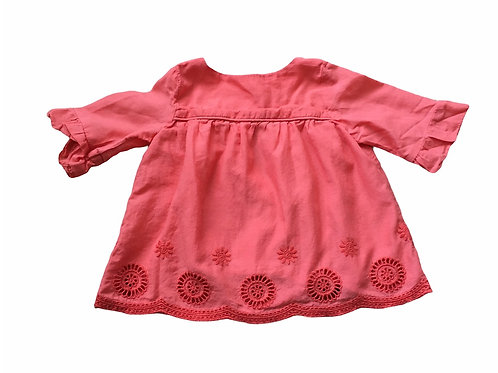 M&S 3-6 months Coral Top