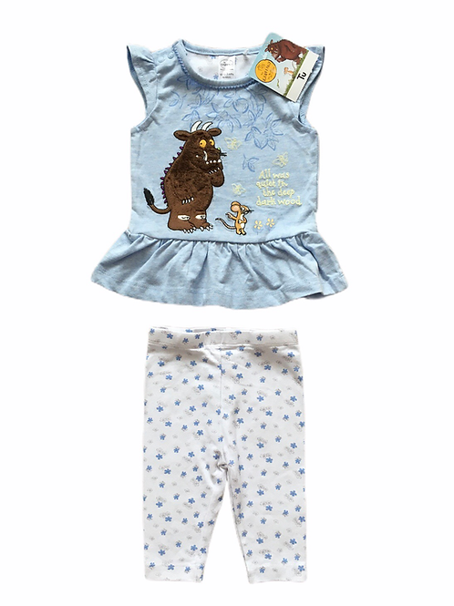 TU 0-3 months Gruffalo Cap Sleeve Top and Leggings Set - BRAND NEW