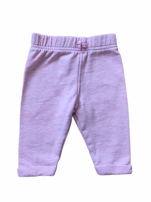 George 0-3 months Baby Pink Joggers