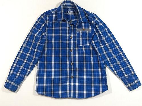 Primark 8-9 years Blue Long Sleeve Check Shirt