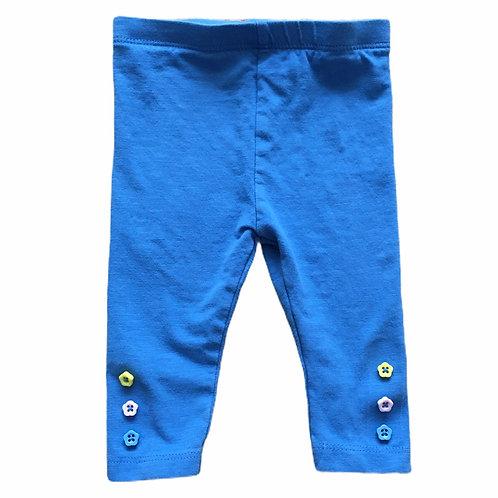 TU 3-6 months Blue Leggings