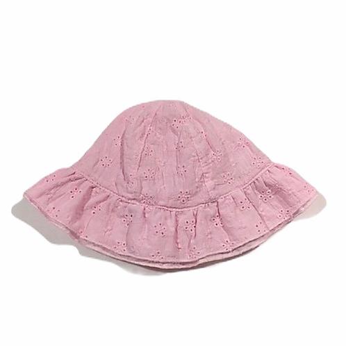 Nutmeg 3-6 months Pink Sun Hat