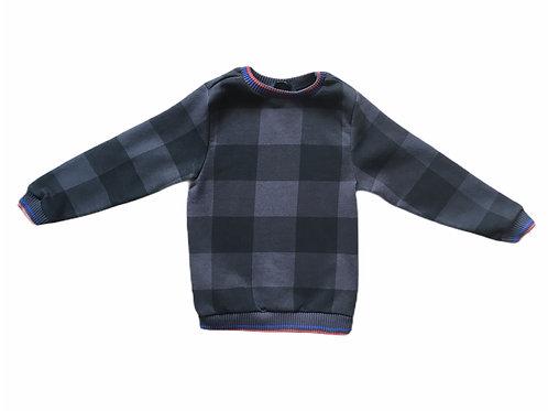 George 4-5 years Checked Sweatshirt