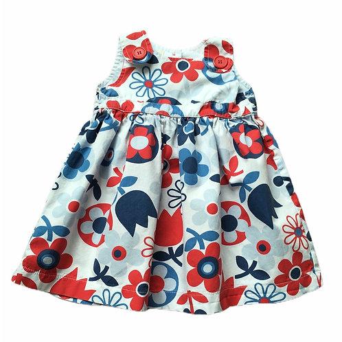 BHS 6-9 months Floral Dress