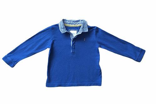 Junior J 12-18 months Blue Long Sleeve Top