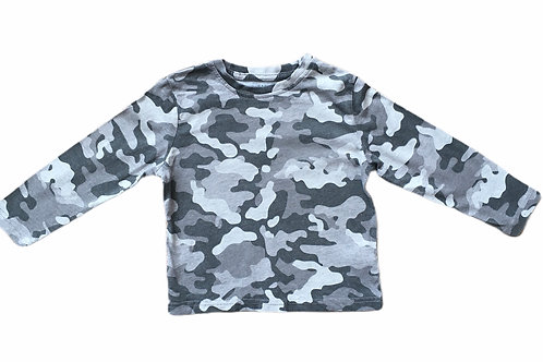 Primark 1.5-2 years Camouflage Long Sleeve Top