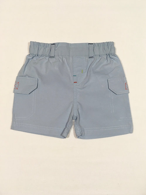 Babaluno 0-3 months Pale Blue Lightweight Shorts
