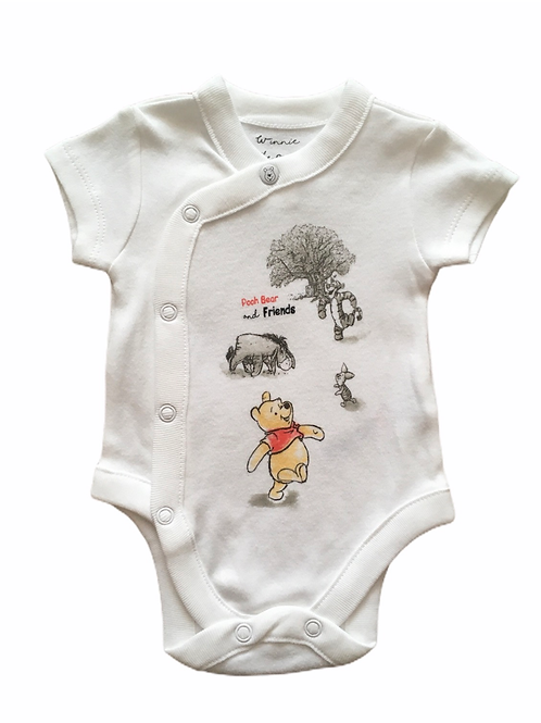 Disney Up to 1 month Winnie the Pooh Short Sleeve Bodysuit - BRAND NEW