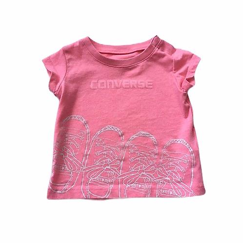 Converse 6-9 months Pink T-shirt