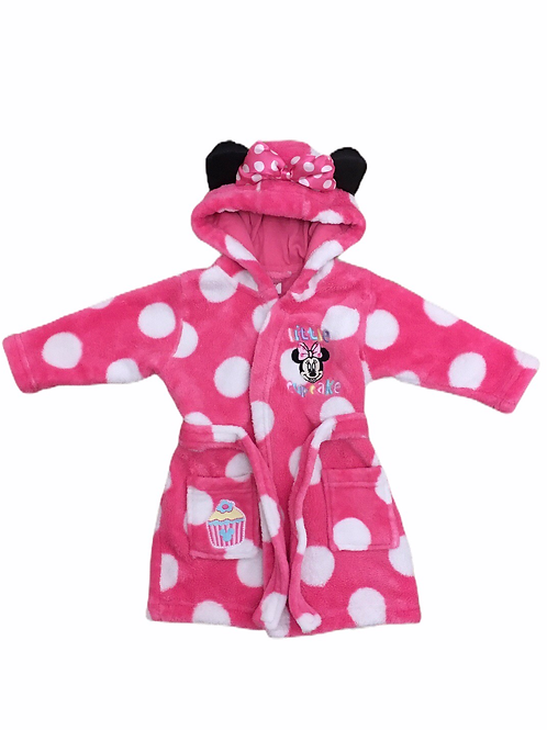 Disney 3-6 months Minnie Mouse 'Little Cupcake' Dressing Gown