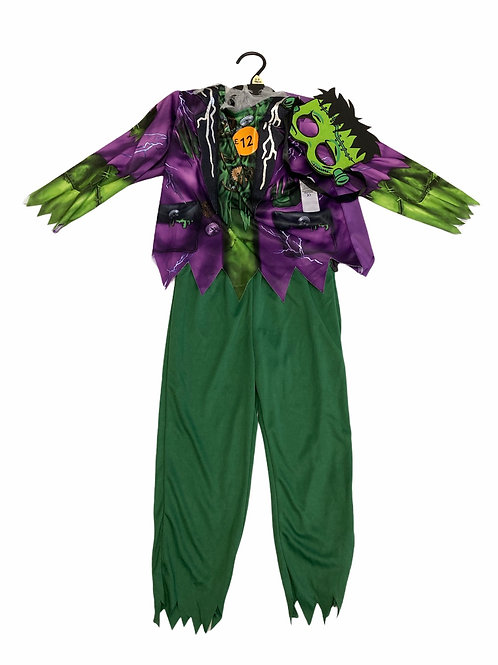 Ex Chain Store 3-4 years Frankenstein Halloween Costume with Mask - BRAND NEW