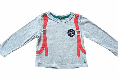 Joules 1 year Camping Top (Design on reverse - see photo)