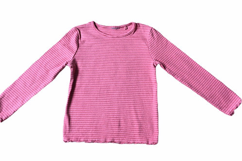 Ex Chain Store 1.5-2 years Pink & Orange Striped Top (Small Mark -See 2nd Photo)