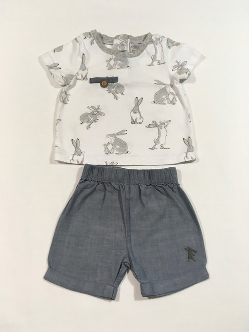 TU 3-6 months 'Guess How Much I Love You' T-shirt and Shorts Set
