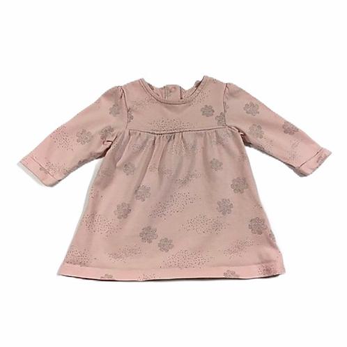M&S 0-3 months Pink Long Sleeve Dress