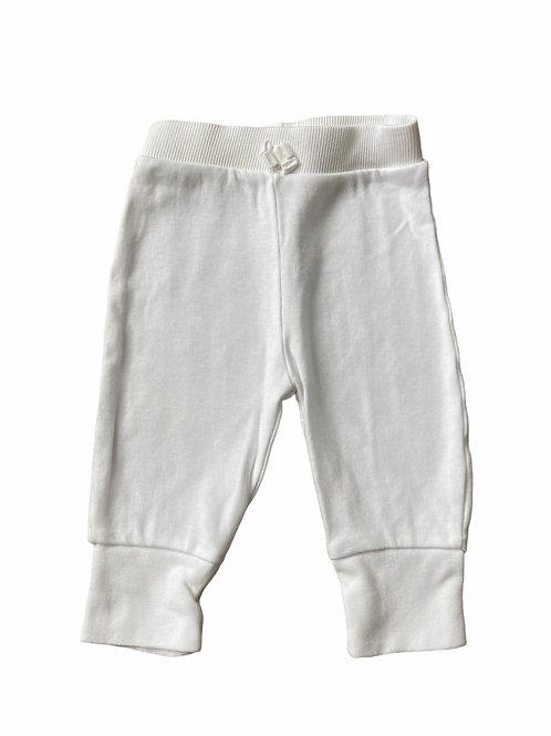 George 3-6 months White Thin Joggers