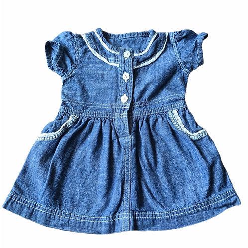 George 3-6 months Denim Dress